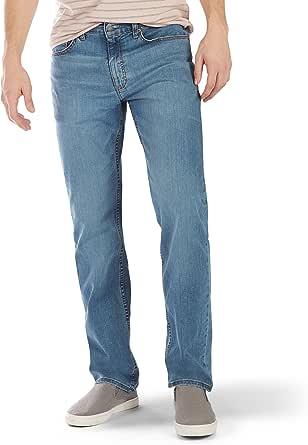 Lee Uniforms Men's Premium Flex Denim Classic Fit Jeans, Rascal, 31W x 30L