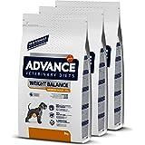 ADVANCE Veterinary Diets Weight Balance Medium/Maxi - Pienso Para Perros Adultos Con Problemas de Sobrepeso De Razas Medianas
