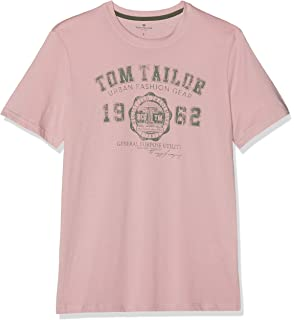 TOM TAILOR Denim T ShirtsTops T Shirt mit Logo Print