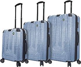 Mia Toro Italy Macchiolina Polish Hardside Spinner Luggage