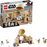 LEGO 75270 Star Wars Obi-Wan's Hut Building Set with Princess Leia Hologram, A New Hope Movie Series