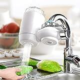 Système de Purificateur de Robinet, minghaoyuan Filtre à eau pour Robinet de Cuisine, Purificateur d'eau du Robinet à la Mais