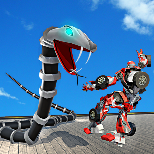 Robot Snake Anaconda Transform City Battle Attack
