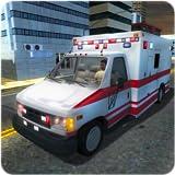Hill Climb Ambulance SIM 3D