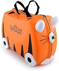 Trunki: The Original Ride-On Suitcase New, Tipu (Orange)