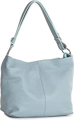 LiaTalia - Emmy - Borsa come borsetta a mano/a tracolla, multiuso e pratica, vera pelle italiana di alta qualità, fatta in Italia