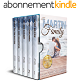 Martin Family Complete Box Set: All 5 books in the Martin Family Romance Series (English Edition)