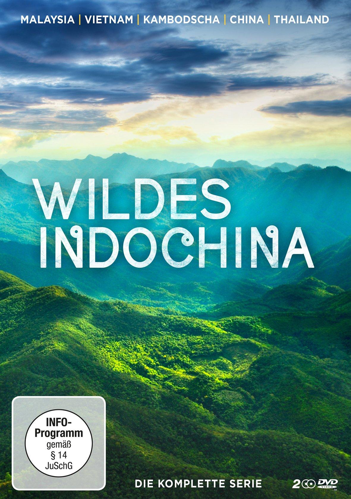 Wildes Indochina (2 DVDs) (Malaysia l Vietnam l Kambodscha l Thailand l China) [Edizione: Germania]