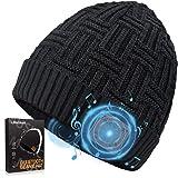 Cappello Bluetooth Regali Natale Uomo Donna, Idee Regalo Uomo Donna Natale Originali, Cappello Berretto Uomo Donna Invernale
