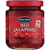 Eurofood Red Sliced Jalapenos - 215 g