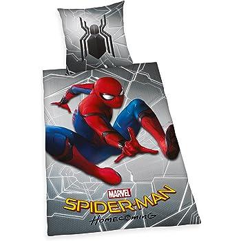 Möbel Wohnen Bettwäsche Spiderman Homecoming Bettwäsche 100