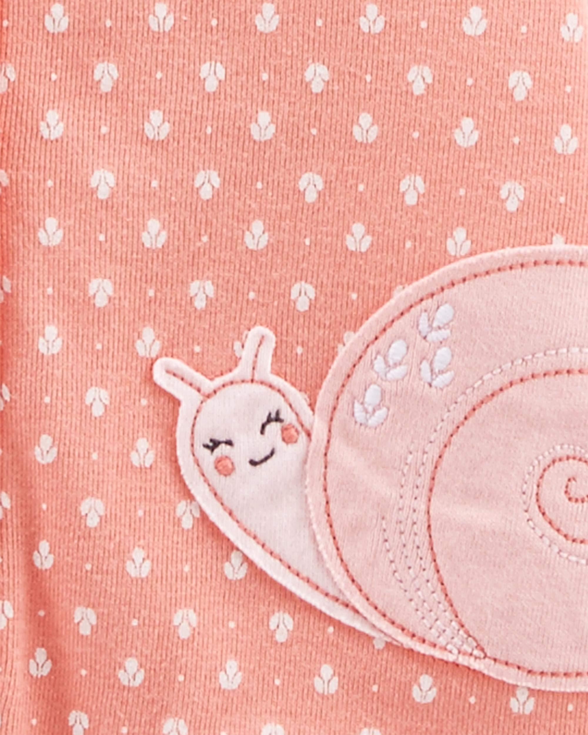 Simple Joys by Carter's Baby Girls paquete de 3 pelele de ajuste 4