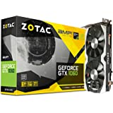 ZOTAC GeForce GTX 1060 AMP! Grafikkarte (NVIDIA GTX 1060, 6GB GDDR5, 192bit, Base-Takt 1556 MHz, Boost-Takt 1771 MHz, 8 GHz)