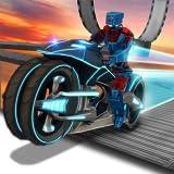 Verkehr Bike Rider Racing & Drift Adventure Simulator Mission: Roboter Bike Stunt Extreme Freestyle...