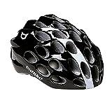 Helm catlike Whisper negro-blanco 2017, bunt, 56-58 cm