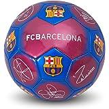 Balón de fútbol oficial firmado con el escudo del FC Barcelona (tamaño 5), international-soccer-leagues, color Signature, tam