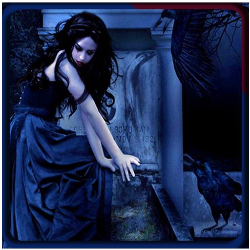gotischen Hintergründe