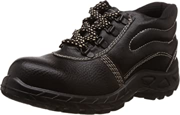 Safari Pro Booster Gold PVC Safety Shoes Steel Toe (Size 7)