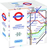 Gibsons TFL London Underground Map 500 Piece Gift Box Jigsaw Puzzle