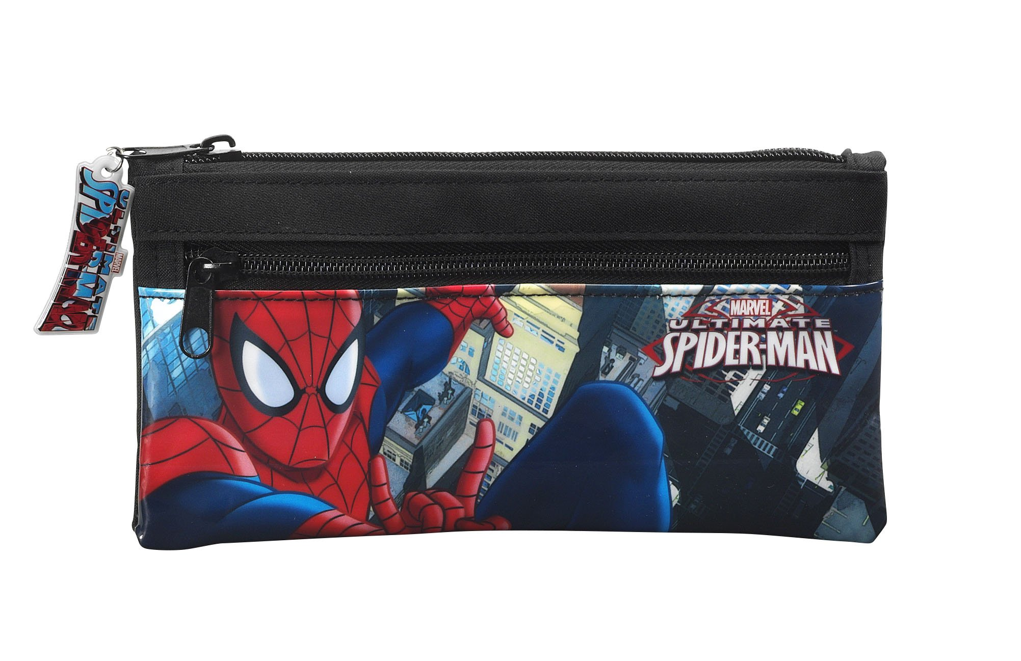 Spiderman – Portatodo Doble, 22 x 11 cm (SAFTA 811512029)
