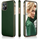 LOHASIC for iPhone 11 Case, Thin PU Leather Slim Luxury Elegant High-end Cover Soft Flexible Anti-Slip Scratch Resistant Prot
