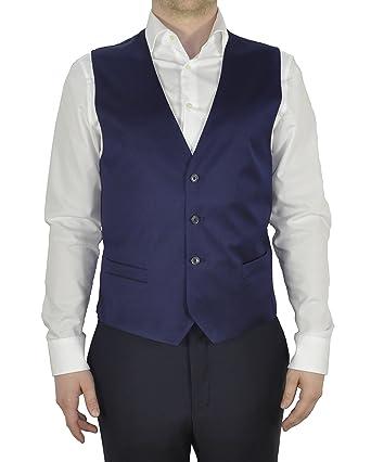 e120cb0aa29c4 Masterhand - Tailored Fit - Herren Baukasten Weste aus reiner Schurwolle in Blau  oder Anthrazit