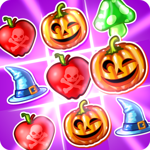 Witch Puzzle (Halloween-level Candy Crush)