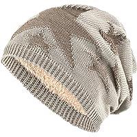 Compagno beanie caldo berretto sportivo ed elegante modello di stella foderato invernale
