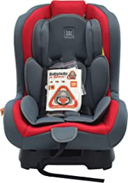 Babyauto Lolo Baby Car Seat, From Birth to 4 Years, From 9kg to 18 Kg-Red