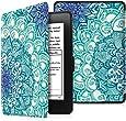 Fintie Hülle für Kindle Paperwhite - Die dünnste und leichteste Schutzhülle mit Auto Sleep/Wake Funktion (Nicht geeignet für das Modell der 10. Generation 2018), Smaragdblau