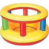 bestway-28610 Parc Trampoline Gonflable pour bébé, 28610, Mulicolore