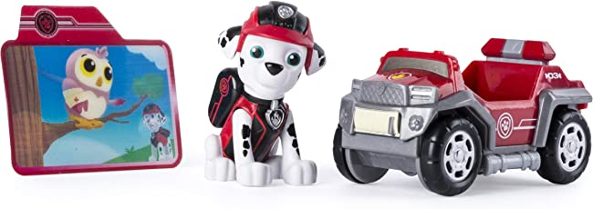 Paw Patrol Mission Paw - Marshall's Rescue Rover - Figure and Vehicle