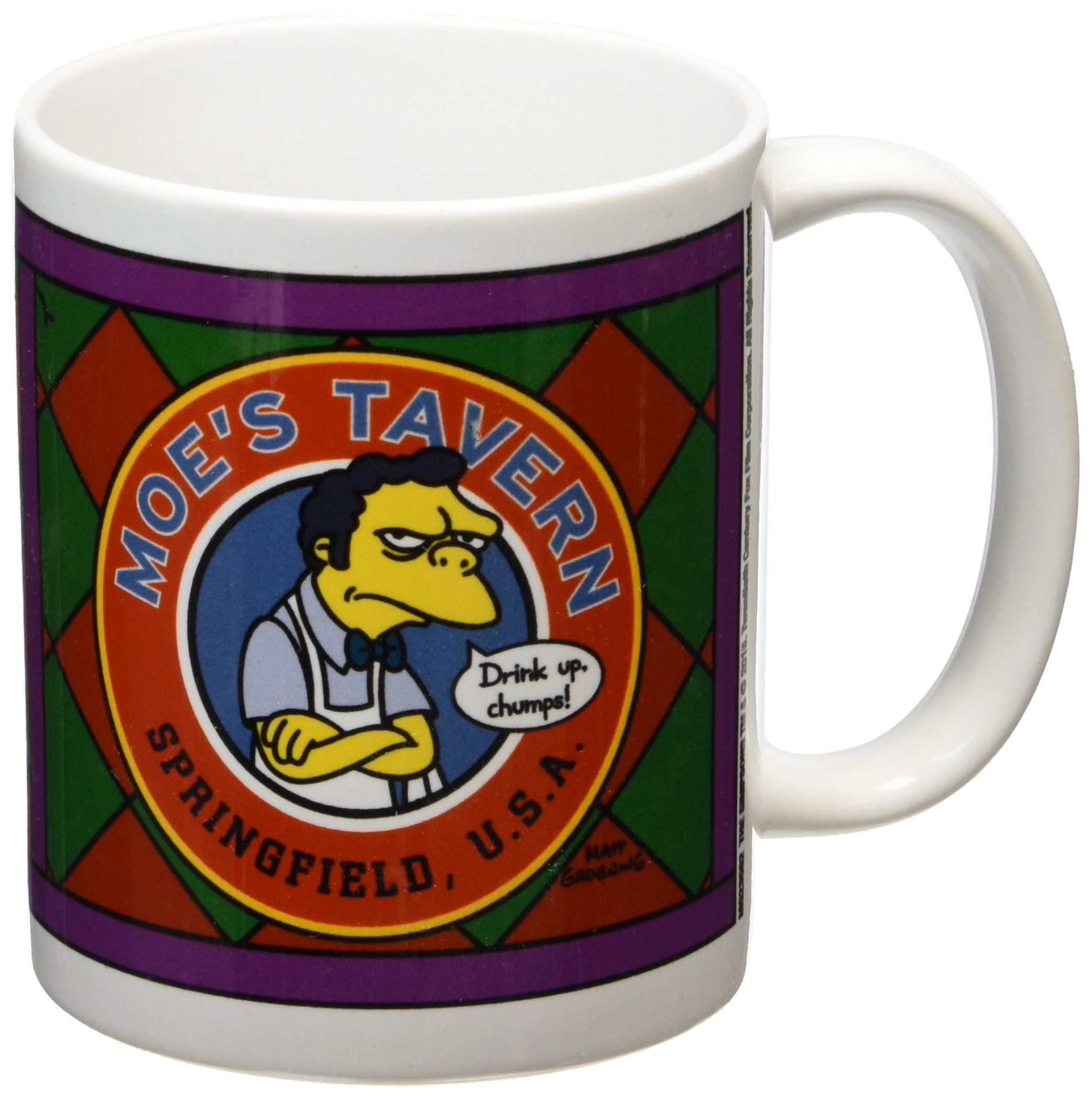 81 Otxl5xYL - The Simpsons - Mug Moe Tavern, 320 ML