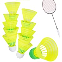 TK Gruppe Timo Klingler 5er Speedbadminton Federbälle schnell gelb Badmintonbälle für Training & Wettkampf Badminton…