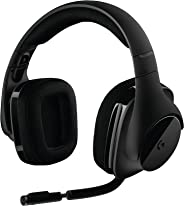 Logitech G533Binaural saç bandı Siyah kulaklık–(PC/oyunları, 7.1kanal, Binaural, saç bandı, siyah, kablosuz)