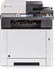 Kyocera Ecosys M5526cdn Farblaser Multifunktionsdrucker: Drucker, Kopierer, Scanner, Faxgerät. Inkl. Mobile-Print-Funktion. Amazon Dash Replenishment fähig