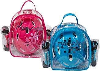 Moov N Go Protection Set, Blue/Pink (Extra Small)