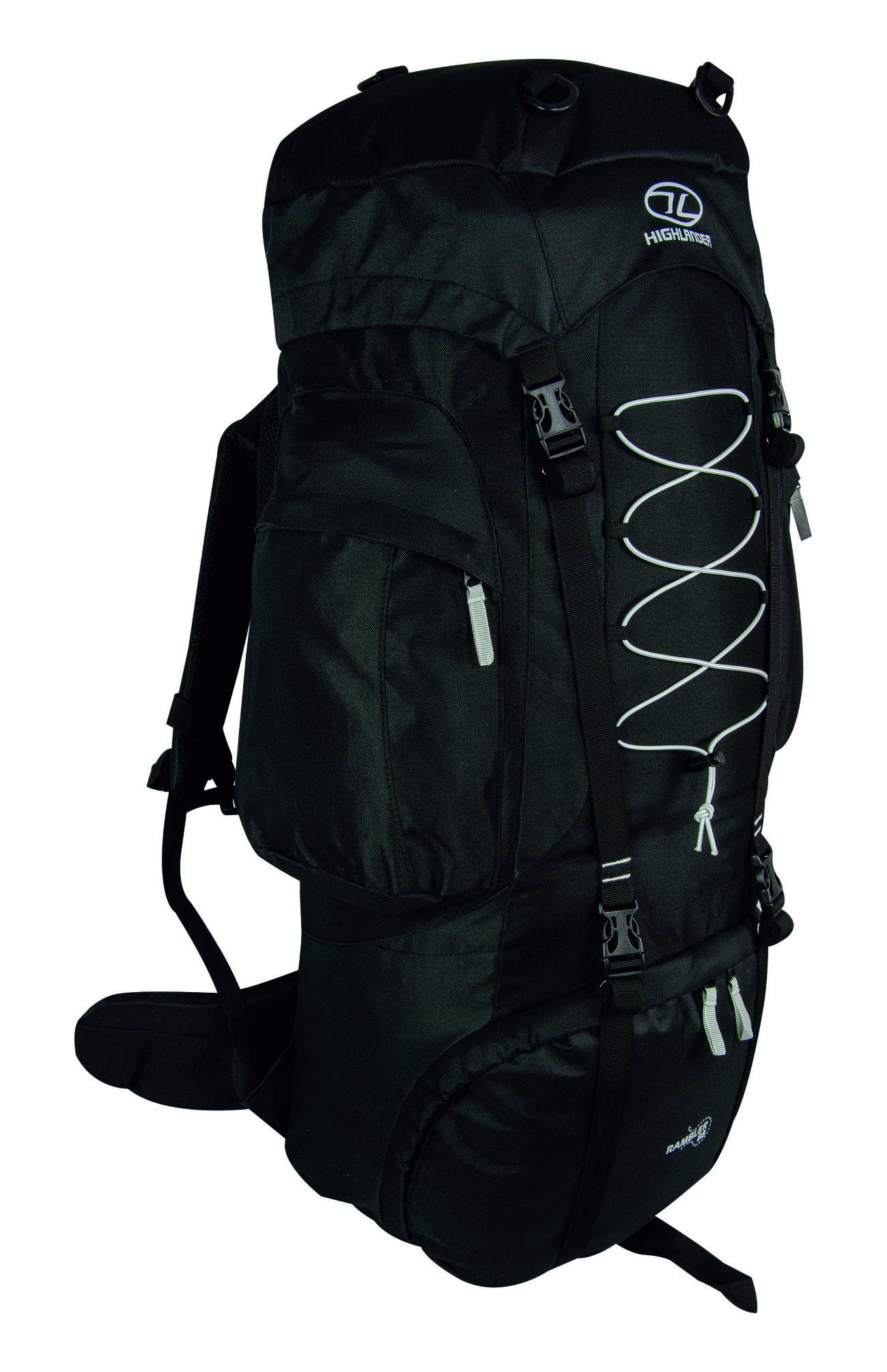Highlander Rambler Rucksack ― Small, Medium & Large Unisex Backpacks for Men & Women Hiking, Rambling, Backpacking… 1