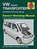VW T5 Transporter (July 03 - 15) Haynes Repair Manual
