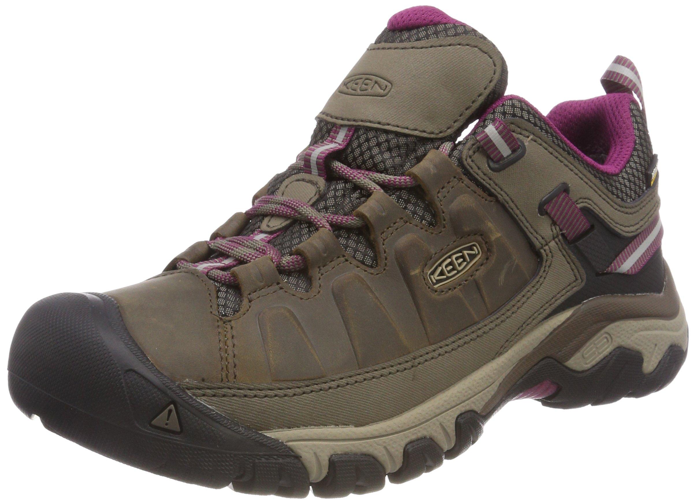 81 R1ZoWiPL - KEEN Women's Targhee Iii Wp Low Rise Hiking Shoes, 9