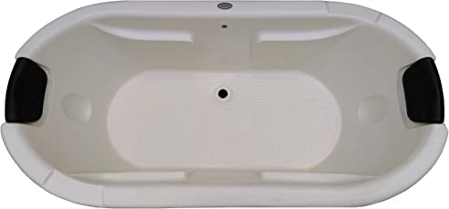 Madonna Intimate 6 feet Acrylic Bath Tub - Ivory