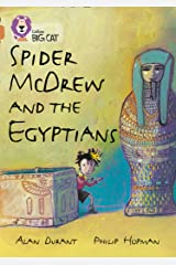 Spider McDrew and the Egyptians: Band 12/Copper (Collins Big Cat) Kindle Edition