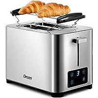 Grille Pain Decen 7 Niveaux de Brunissage, Affichage LCD, 2 Large Fente Toaster Vintage, Tiroir à miettes Amovible…