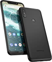 Motorola One 64GB 5.9-Inch Android One Android 8.1 UK Sim-Free Smartphone with 4GB RAM and 64GB Storage (Dual Sim) - Ceramic Black