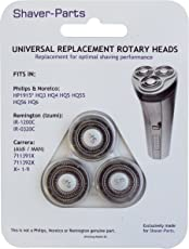 Shaver-Parts Alternative Scherköpfe für Philips HQ3, HQ4, HQ5, HQ55, HQ56, HQ6