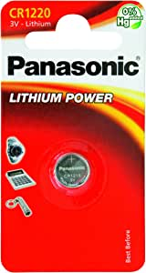 Panasonic Specialist Lithium Coin Batteries Cr1220l X 1 Elektronik
