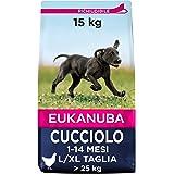 Eukanuba Cibo Cecco per Cuccioli in Crescita, per Cani di Taglia Grande, Ricco di Pollo Fresco, 15 kg