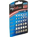 HyCell 24x knoopcel-voordeelset Alkaline 1 Set zilver
