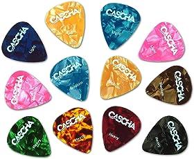CASCHA HH 2002 Guitar Pick Set (12-Stück)