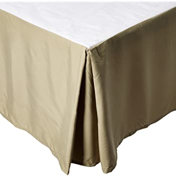Clara Clark Supreme 1500 Collection Solid Bed Skirt Dust Ruffle